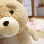 テッドをぬいぐるみ病院に入院させたい